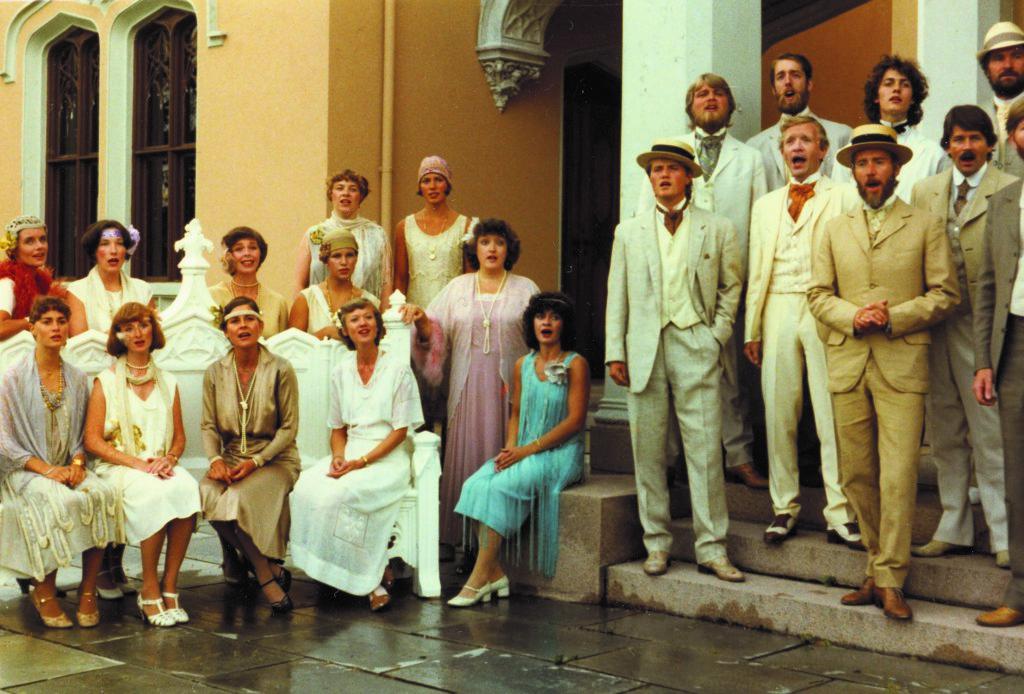Grex Vocalis Paa Oscarshall i 1981