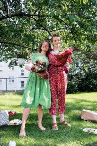 Mari Eckhoff Tveito og Liv Karin Dahlstrøm startet Oslo Internasjonale Kvinnekor.